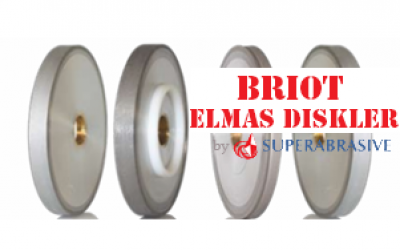 briot optik lens elmas disk